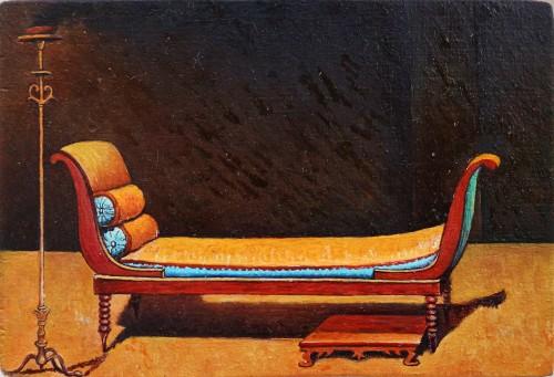 - Madame Récamier (después de Jacques-Louis David)