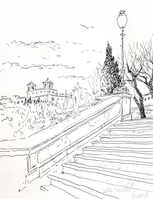 - Escalinata de la Trinidad - Roma