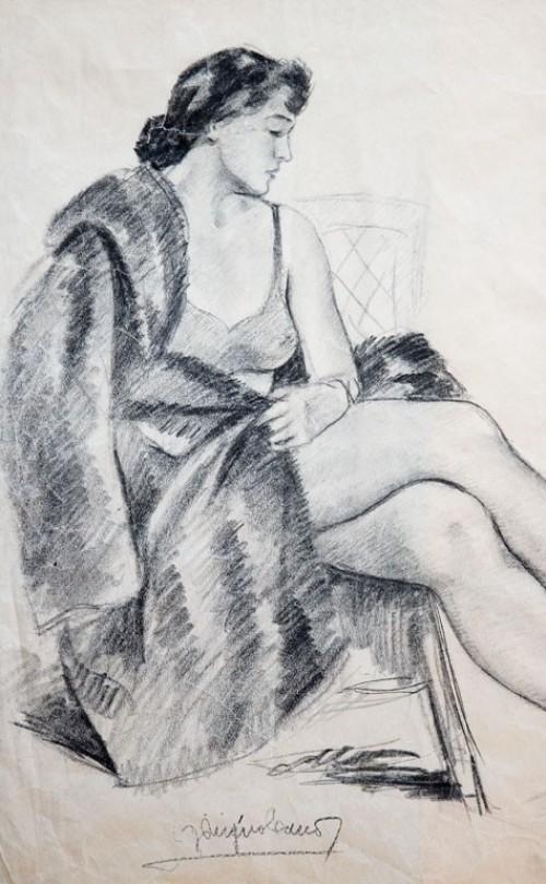 - Dibujo femenino