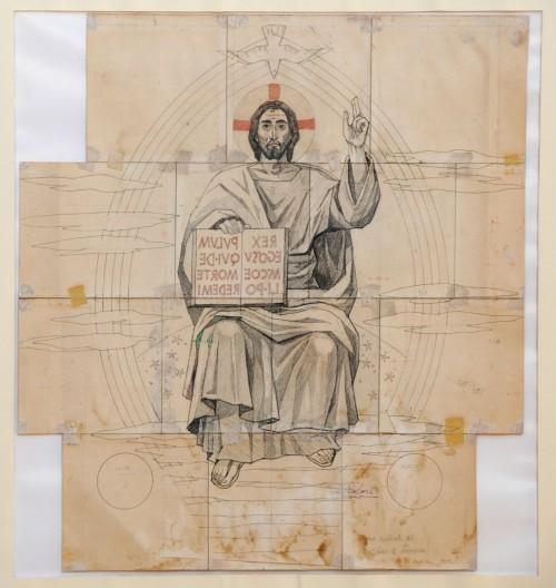 - Cristo para mosaico Catedral de Linares