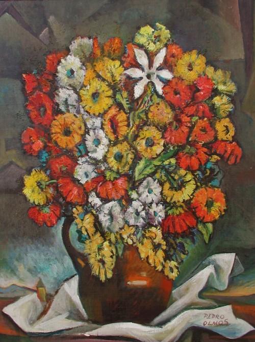 - Bodegón con flores