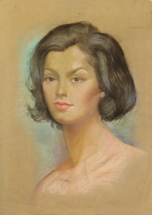 - Retrato de Sra. Berta Rebolledo Muñoz