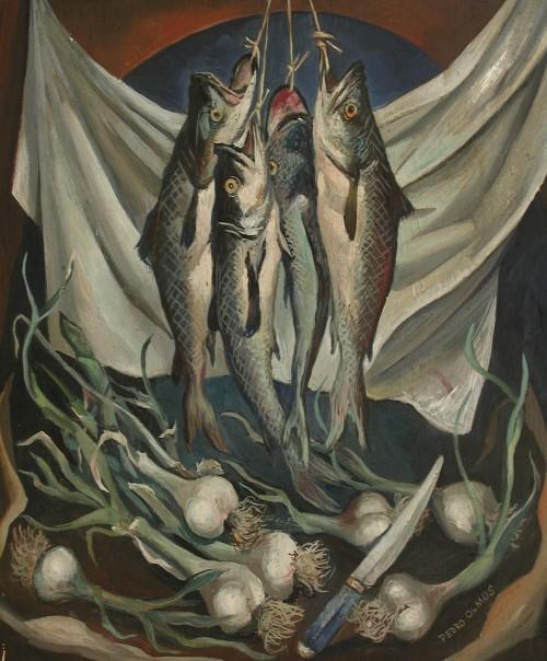 - Bodegón con pescado