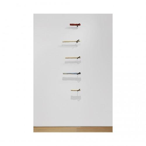 Gabriela Salazar - Hook Crook Installation at The Drawing Center