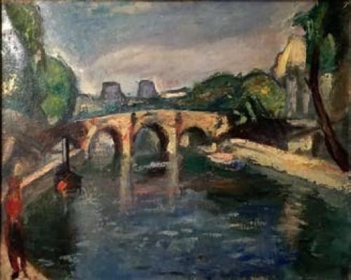 - Puente en París