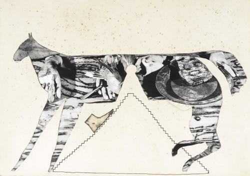 - Horse and pyramid