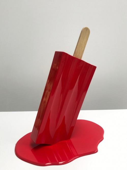 - Paleta roja
