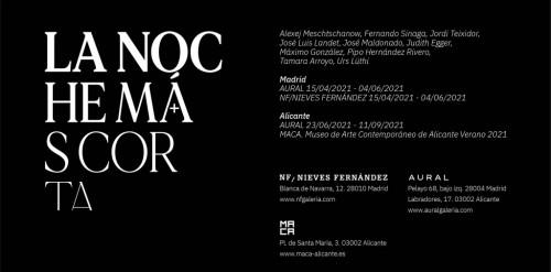 """- Exhibition """"La noche más corta"""""""