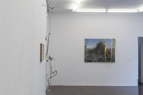 """- Installation view N/F gallery Madrid """"La noche más corta"""""""