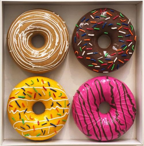 - Caja de donuts