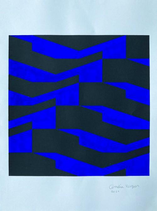 - Movimiento mutuo I Azul