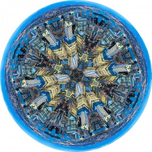 - Wall Street Golden Blue Mandala (New York)