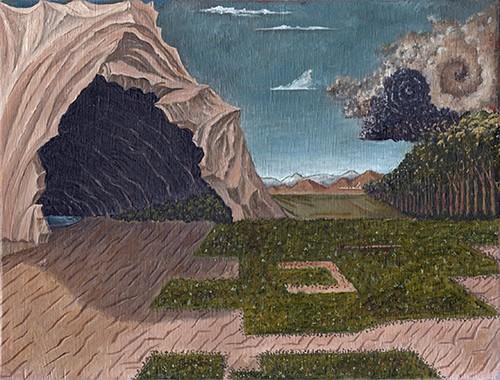-  San Jorge y el Dragón (después de Paulo Ucello)