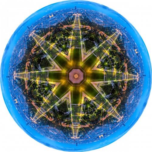 - Montparnase Golden Blue Mandala (Paris)